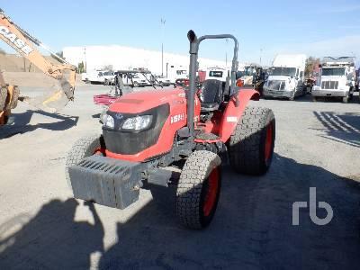 KUBOTA M6060 MFWD Tractor