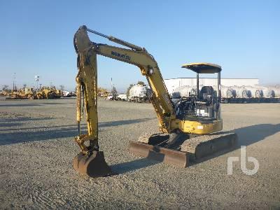2007 KOMATSU PC50MR2 Mini Excavator (1 - 4.9 Tons)
