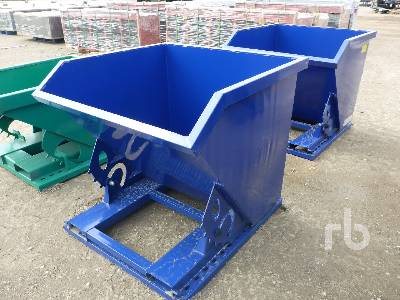 Unused Qty Of 2 Self Dumping Hoppers Container Equipment - Other