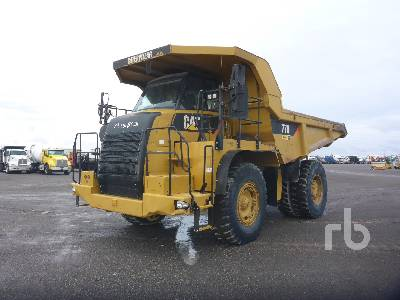 2010 CATERPILLAR 770 4x4 Rock Truck