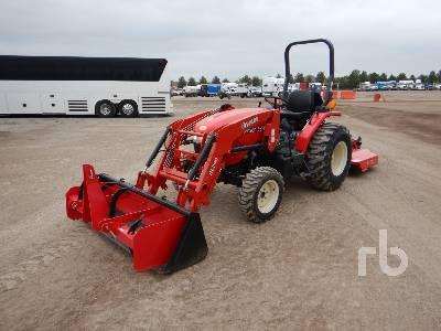 2018 BRANSON 3520R 4WD Utility Tractor