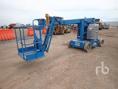 2012 GENIE Z34/22 4x4 Electric Articulated Boom Lift