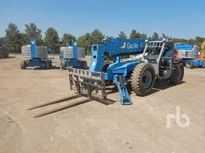 2011 GENIE GTH1056 10000 Lb 4x4x4 Telescopic Forklift