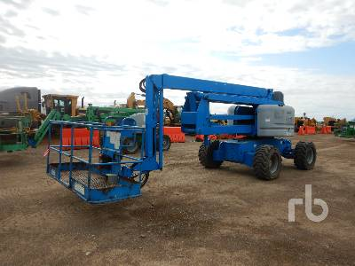 2009 GENIE Z60/34 4x4 Articulated Boom Lift