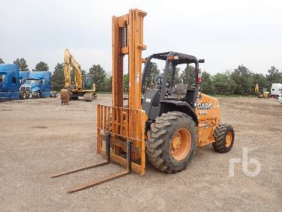 2013 CASE 586H 6000 Lb 4x4 Rough Terrain Forklift