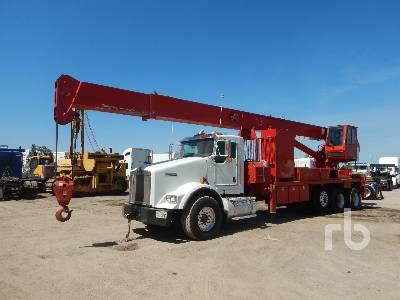 2012 KENWORTH T800 Tri/A w/QMC RG38T60 30 Ton Boom Truck