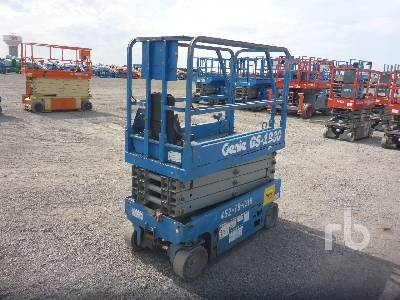 2012 GENIE GS1930 19 Ft Electric Scissorlift