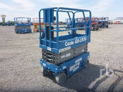 2013 GENIE GS1930 19 Ft Electric Scissorlift