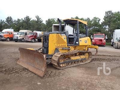 2012 JOHN DEERE 550K XLT Crawler Tractor