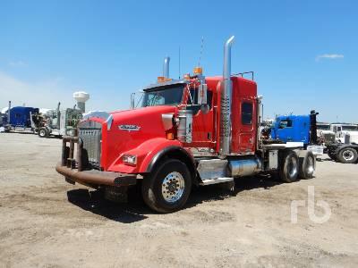 2010 KENWORTH T800 T/A Sleeper Winch Tractor