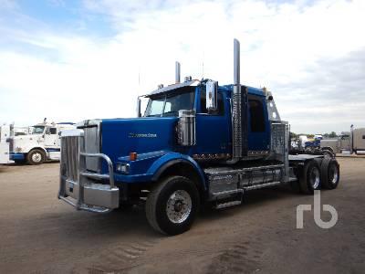 2012 WESTERN STAR 4900SA T/A Sleeper Winch Tractor