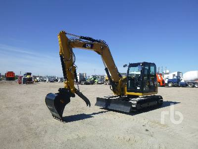2016 CATERPILLAR 308E2 CR Midi Excavator (5 - 9.9 Tons)