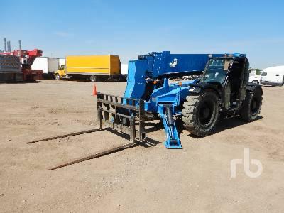 2015 GENIE GTH1056 10000 Lb 4x4x4 Telescopic Forklift