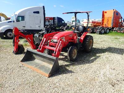 2017 BRANSON 3520R MFWD Utility Tractor
