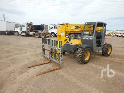 GEHL RS634 6000 Lb 4x4x4 Telescopic Forklift