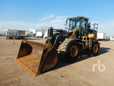 2014 JOHN DEERE 724K Wheel Loader