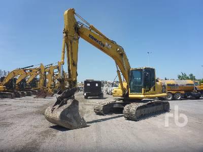 2012 KOMATSU PC200LC-8 Hydraulic Excavator