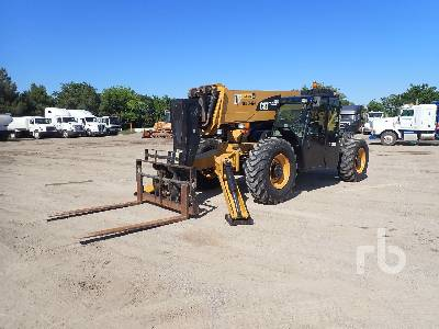 2015 CATERPILLAR TL1255C 12000 Lb 4x4x4 Telescopic Forklift