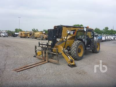2015 CATERPILLAR TL1255D 12000 Lb 4x4x4 Telescopic Forklift