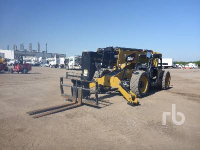 2016 CATERPILLAR TL1055D 10000 Lb 4x4x4 Telescopic Forklift