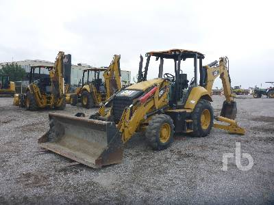 2016 CATERPILLAR 420F2IT 4x4 Loader Backhoe