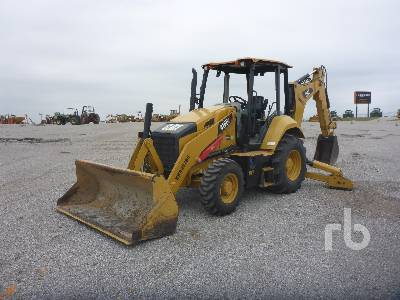 2016 CATERPILLAR 416F2 4x4 Loader Backhoe