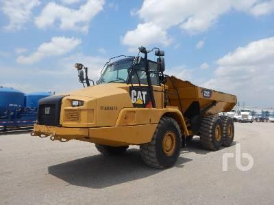 2015 CATERPILLAR 725C 6x6 Articulated Dump Truck