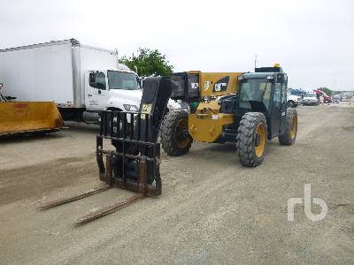 2013 CATERPILLAR TL943C 9000 Lb 4x4x4 Telescopic Forklift