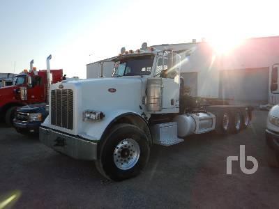 2012 PETERBILT 367 Tri/A Winch Tractor