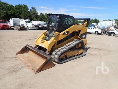 2012 CATERPILLAR 299C 2 Spd High Flow Compact Track Loader