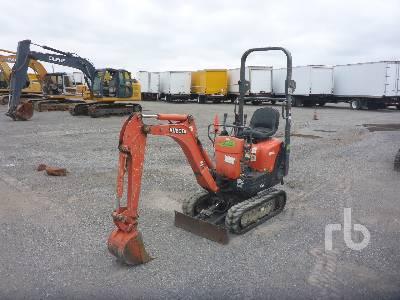 2014 KUBOTA K008T4 Mini Excavator (1 - 4.9 Tons)