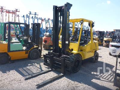 2002 HYSTER H100XM 10000 Lb Forklift