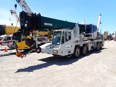 2008 GROVE TMS700E 60 Ton T/A T/A Hydraulic Truck Crane