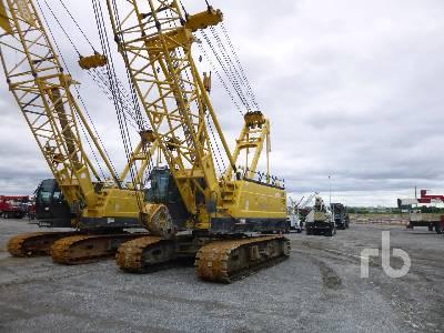 2013 KOBELCO CK1100G 110 Ton Crawler Crane