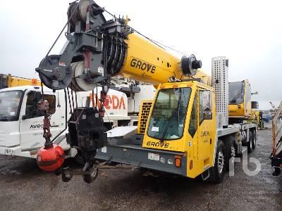 2013 GROVE TMS9000E 110 Ton T/A T/A Hydraulic Truck Crane