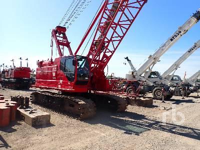 2012 MANITOWOC 11000-1 110 Ton Self-Erecting Crawler Crane
