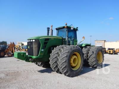 2008 JOHN DEERE 9630 Scraper Special 4WD Tractor
