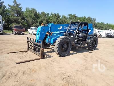 2015 GENIE GTH844 8000 Lb 4x4x4 Telescopic Forklift