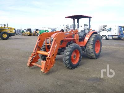 2015 KUBOTA M9960D MFWD Tractor