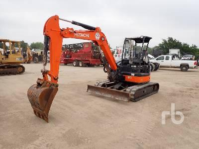 2013 HITACHI ZX50U-3 Midi Excavator (5 - 9.9 Tons)