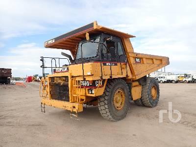 1996 CATERPILLAR 769D Rock Truck