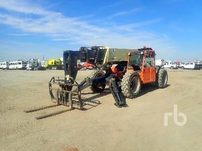 2014 JLG G1055A 10000 Lb 4x4x4 Telescopic Forklift