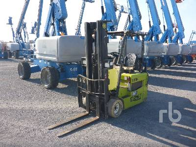 2014 CLARK TMX20 4000 Lb Electric Forklift