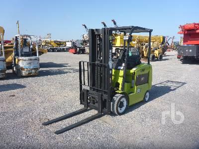 2013 CLARK ECX25 5000 Lb Electric Forklift