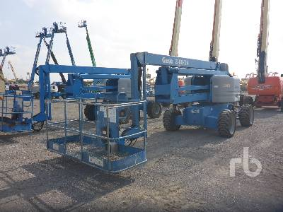 2012 GENIE Z60/34 4x4 Articulated Boom Lift