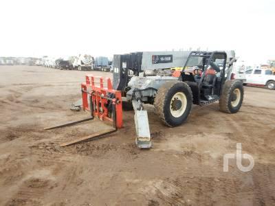2011 SKYJACK VR1056D 10000 Lb 4x4x4 Telescopic Forklift