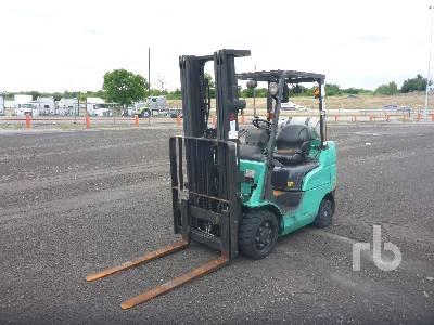 2011 MITSUBISHI FGC25N 5000 Lb Forklift