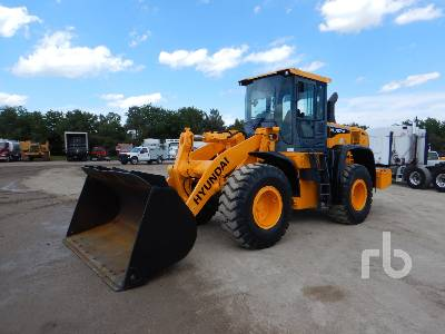 2015 HYUNDAI HL757-9A Wheel Loader