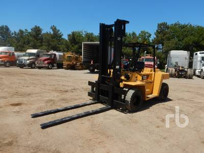 CATERPILLAR DP70K 15500 Lb Forklift