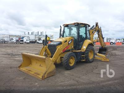 2018 CATERPILLAR 420F2 4x4 Loader Backhoe